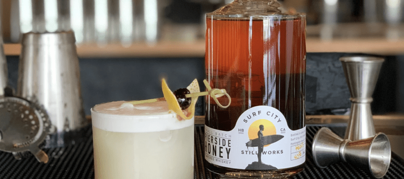 SCSW Honey Whiskey Sour Craft Cocktail Recipe